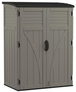 SHED VERTICAL STOR GRY 54CU FT Outdoor Storage Suncast