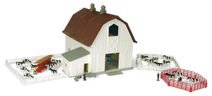 64 M4 DAIRY BARN PLAYSET Toy John Deere