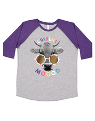 Toddler Farm Girl Current Mood Long Sleeve Tee Farm Girl Clothing Farm Girl 2T