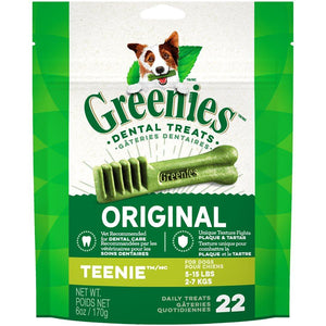 Greenies Mini Treat-PakTeenie 6oz Dog Supplies Greenies