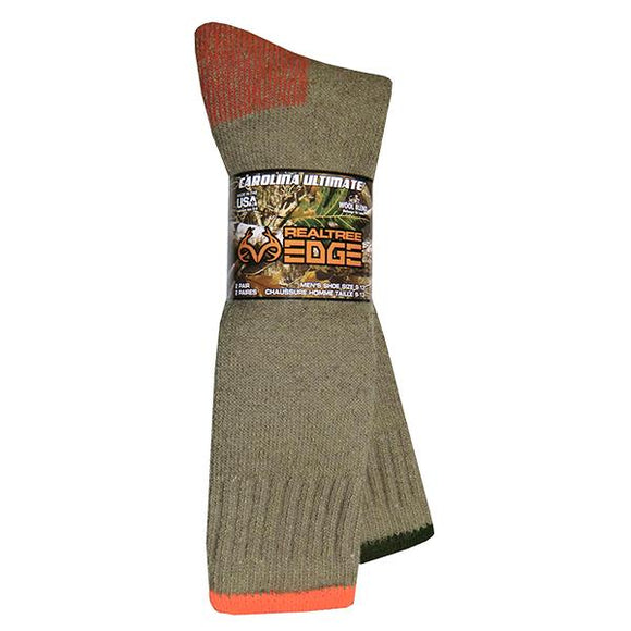 Men's RT Edge Wool Blend Boot Sock Hunting Continental Sports Inc.