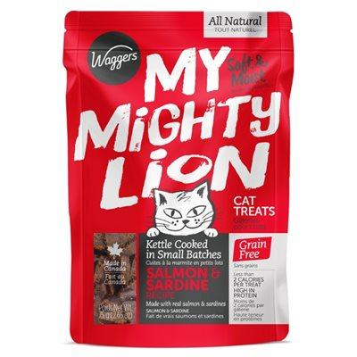 Waggers My Mighty Lion Salmon 75g Cat Supplies Waggers Pet Products