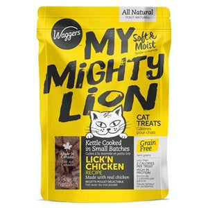 Waggers My Mighty Lion Chicken 75g Cat Supplies Waggers Pet Products