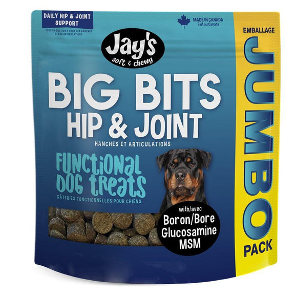 Waggers Jay's Big Bits Functional Treats 908g Dog Supplies Waggers Pet Products