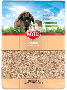 Kaytee Aspen Bedding & Litter 3200 cu in KB Depot Express