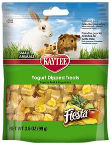 Kaytee Fiesta Yogurt Dipped Treat Tropical Fruit 3.5oz KB Depot Express
