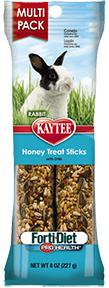 Kaytee Forti Diet Pro Health Rabbit Honey Treat Stick 8oz KB Depot Express