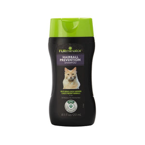 FURminator Hairball Prevention Shampoo for Cats 8.5oz Cat Supplies FURminator