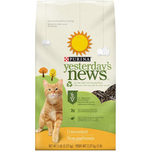 Yesterday's News Litter 5LB (6) Cat Supplies Yesterday's News