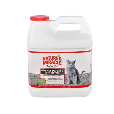 Nature's Miracle Intense Defense Litter 14lb Jug Cat Supplies Spectrum Brands