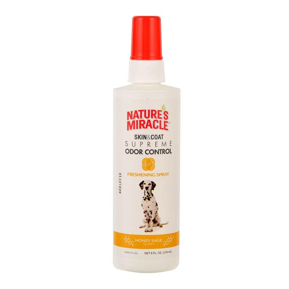 UPG Nature's Miracle Supreme Odor Control Spray Honey Sage 8oz Dog Supplies Spectrum Brands