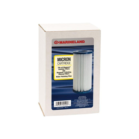 Spectrum Marineland Magnum Micron Cartridge 1-Pack Aquatic Spectrum Brands