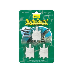 Spectrum Tetra ReptoGuard Water Conditioner 3 Blocks Aquatic Spectrum Brands