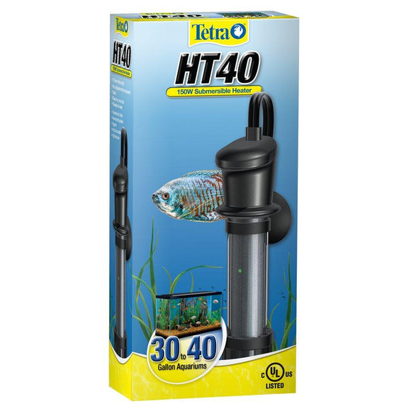 Tetra HT40 Submersible Heater 150W 30 to 40 Gallons Aquatic Spectrum Brands