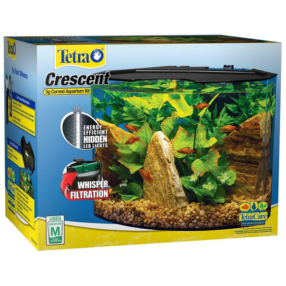 Tetra Crescent Aquarium Kit 5 Gallons Aquatic Spectrum Brands