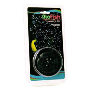 Spectrum GloFish 6-LED Round Bubbler - Blue Aquatic Spectrum Brands