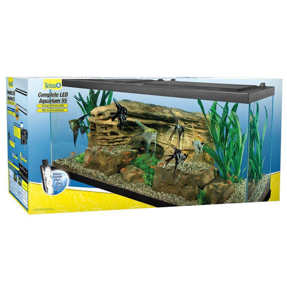 Tetra LED Deluxe Aquarium Kit 55 Gallons Aquatic Spectrum Brands