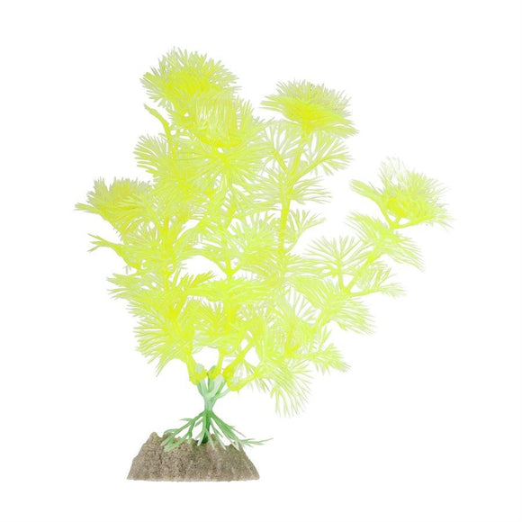 Spectrum GloFish Plant Medium Yellow Aquatic Spectrum Brands
