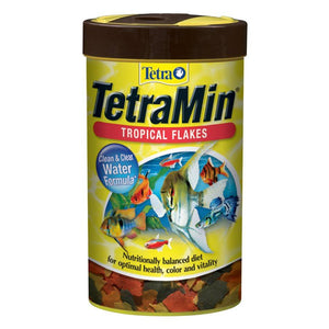 Tetra Min Flakes (Trilingual) 1oz Aquatic Spectrum Brands