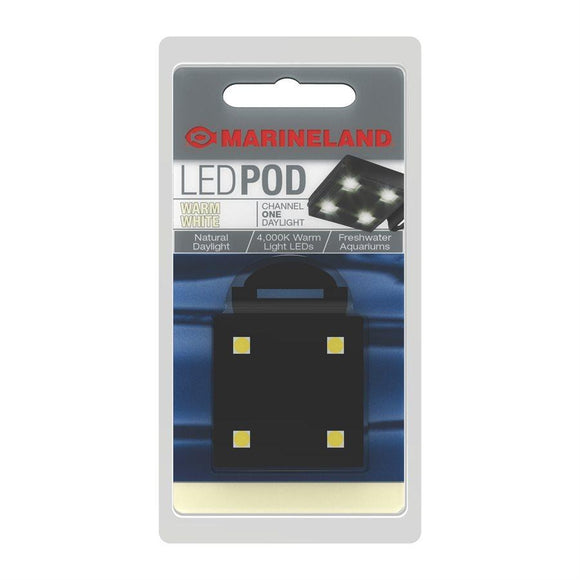 Spectrum Marineland LED POD Warm White Light Aquatic Spectrum Brands