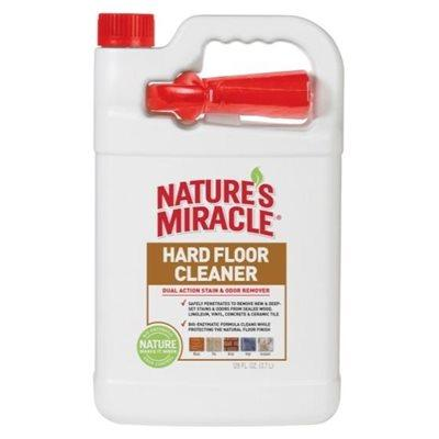 Spectrum Nature's Miracle Hard Floor Stain & Odor Remover 1 Gallon 128oz Dog Supplies Spectrum Brands