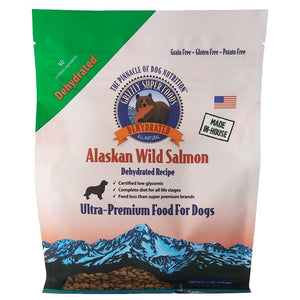 Grizzly SuperFoods for Dogs Dehydrated Salmon 1LB Dog Food Grizzly Pet Products