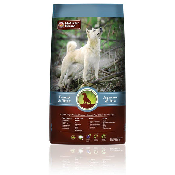 My Healthy Pet Super Premium Dog Lamb & Rice 8lbs Dog Food Holistic Blend