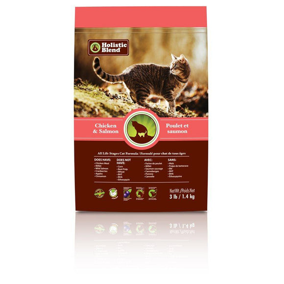 My Healthy Pet Super Premium Cat Chicken & Salmon 3lbs Cat Food Holistic Blend