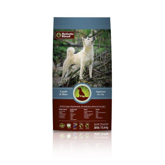 My Healthy Pet Super Premium Dog Lamb & Rice 30lbs Dog Food Holistic Blend