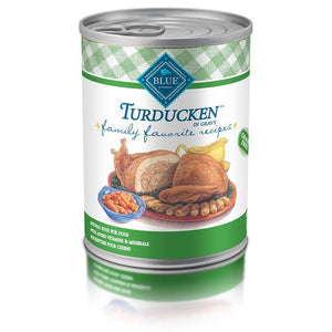 Blue's Family Favorite Recipes Adult Turducken 12/12.5 oz Dog Food Blue Buffalo