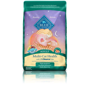 Blue Life Protection Multi-Cat Health Adult Chicken & Turkey Recipe 15LB Cat Food Blue Buffalo