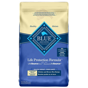 Blue Buffalo Life Protection Healthy Weight Large Breed Adult Dog Chicken 26LB Dog Food Blue Buffalo