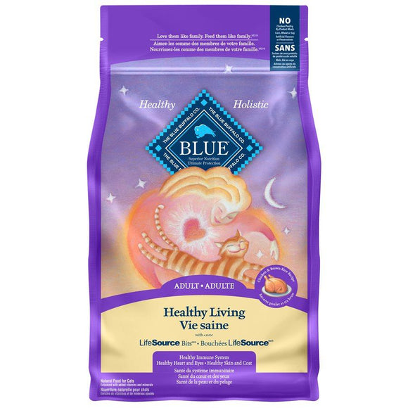 Blue Buffalo Life Protection Adult Cat Chicken 3LB Cat Food Blue Buffalo