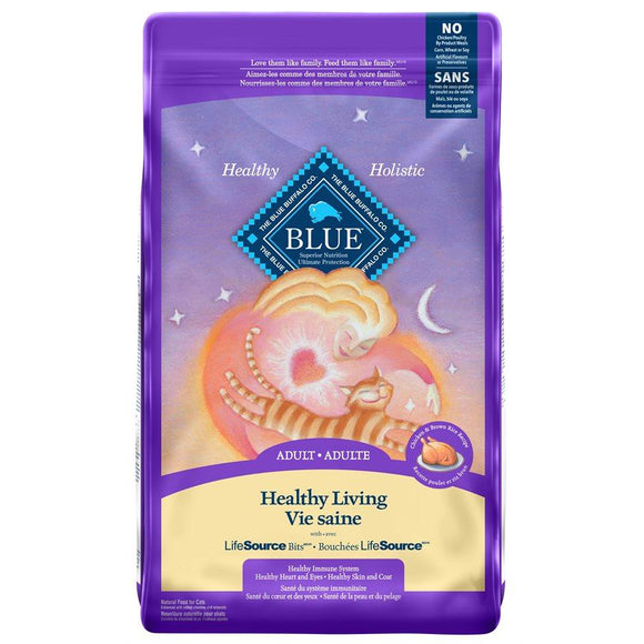 Blue Buffalo Life Protection Adult Cat Chicken 7LB Cat Food Blue Buffalo