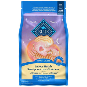 Blue Buffalo Life Protection Indoor Adult Cat Chicken 3LB Cat Food Blue Buffalo