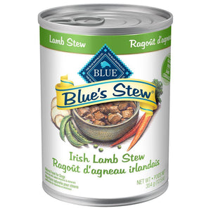 Blue's Stew Adult Irish Lamb Stew 12/12.5 oz Dog Food Blue Buffalo
