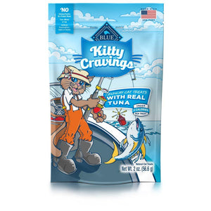 Blue Life Protection Kitty Cravings Real Tuna Treats 12/2 oz Cat Food Blue Buffalo