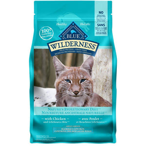 Blue Buffalo Wilderness Indoor Hairball Control Adult Cat Chicken 11LB Cat Food Blue Buffalo
