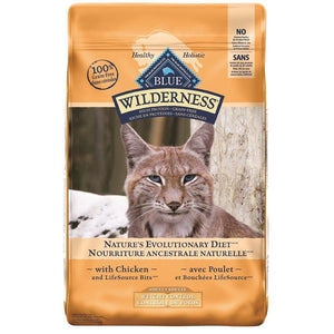 Blue Buffalo Wilderness Weight Control Adult Cat Chicken 11LB Cat Food Blue Buffalo