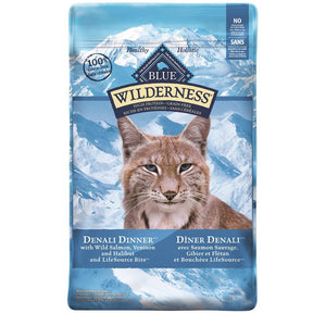 Blue Buffalo Wilderness Denali Dinner Adult Cat 10LB Cat Food Blue Buffalo