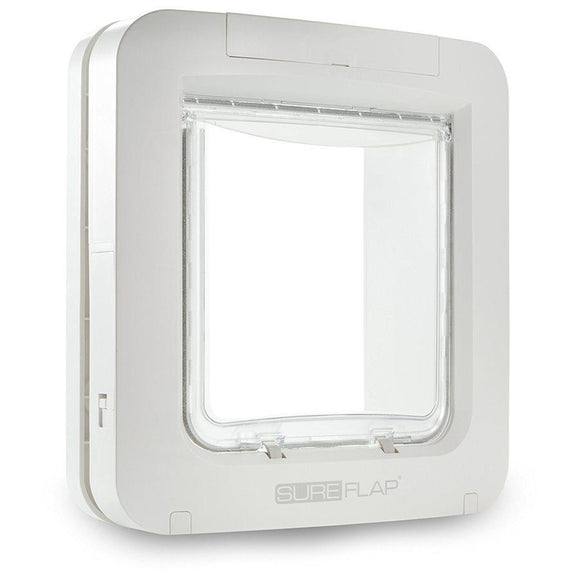 SureFlap Microchip Pet Door White Cat Supplies SureFlap