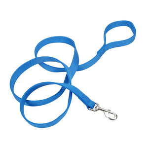 Coastal® Double-Ply Dog Leash - 1in x 6ft Blue Lagoon KB Depot Express