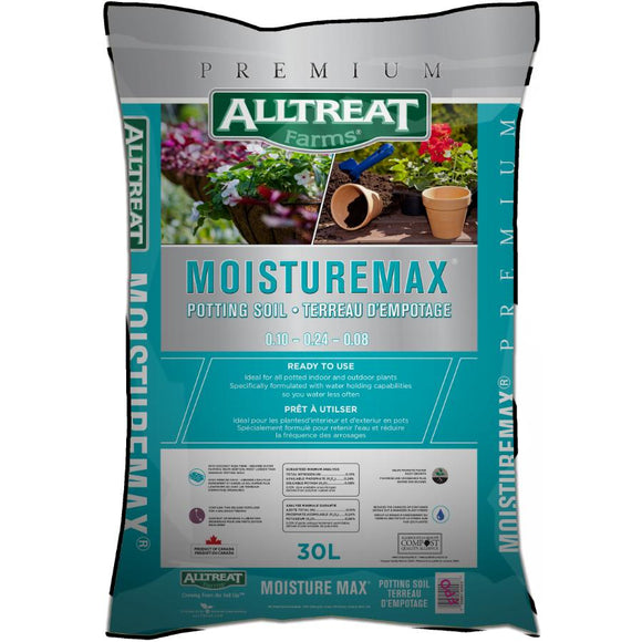 30L All Treat Farms MoistureMax Potting Soil, Bag