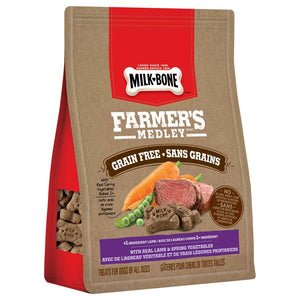Smuckers Milk Bone Farmer's Medley Grain Free Lamb & Vegetables Treats 4/340g Dog Supplies J.M.Smuckers