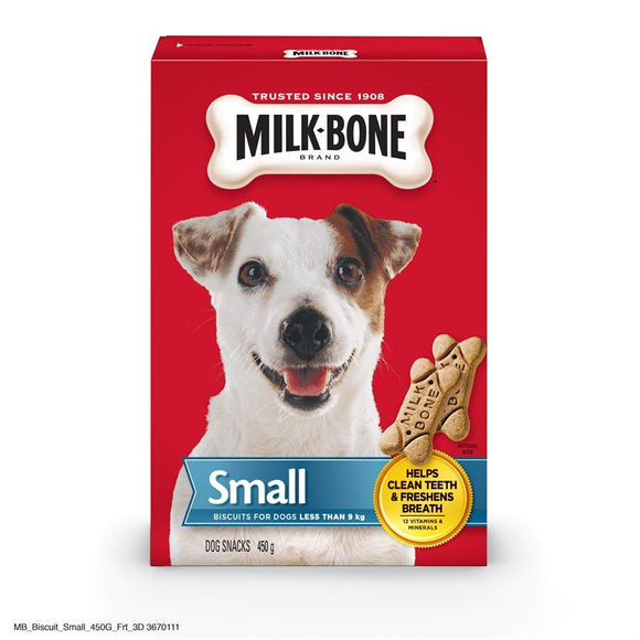 Smuckers Milk Bone Original Small Biscuits 12/450g Dog Treats J.M.Smuckers