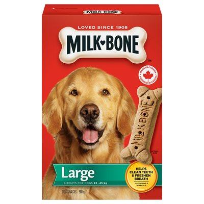Smuckers Milk Bone Original Large Biscuits 12/900g Dog Treats J.M.Smuckers