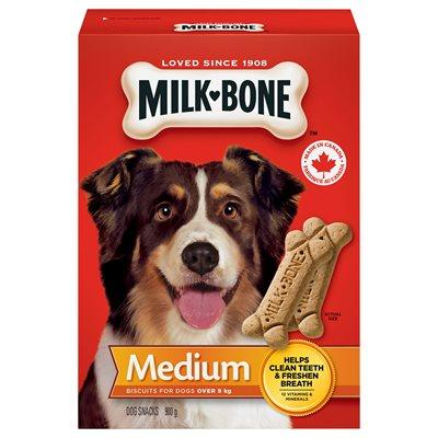 Smuckers Milk Bone Original Medium Biscuits 12/900g Dog Treats J.M.Smuckers