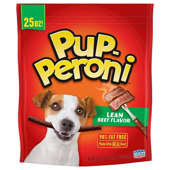 Smuckers Pup-Peroni Lean Beef Flavor Treats 4/708g Dog Supplies J.M.Smuckers