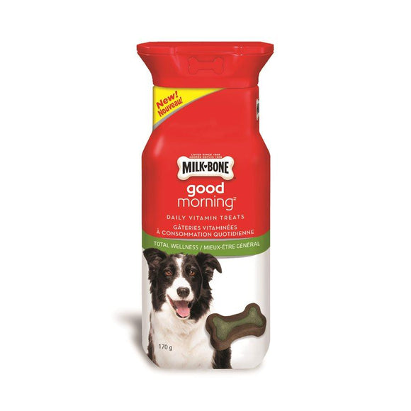 Smuckers Milk Bone Good Morning Total Wellness 30 Pack 4/170g Dog Supplies J.M.Smuckers
