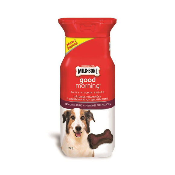 Smuckers Milk Bone Good Morning Healthy Aging 30 Pack 4/170g Dog Supplies J.M.Smuckers